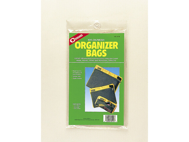 Coghlans Organizer Bags 3-Pack